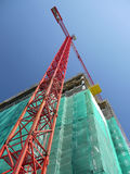 Highrise construction stock images