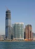 Highrise construction - Hong Kong Stock Image