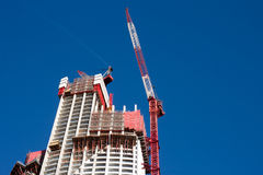 Highrise Construction Site Stock Photography
