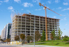 Highrise Construction Site Stock Image