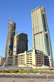 Highrise constructions Royalty Free Stock Photo