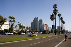 Highrise de San Diego Images libres de droits