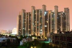 Highrise die gurgaon bouwen Royalty-vrije Stock Foto's