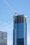 Highrise en construction Image libre de droits