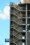 Highrise en construction Photo stock
