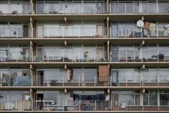 Highrise en Zoetermeer Fotografía de archivo libre de regalías
