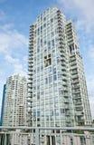 Highrise flatgebouw royalty-vrije stock fotografie