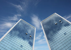 Highrise glass building Royalty Free Stock Image