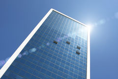 Highrise glass building Royalty Free Stock Photography