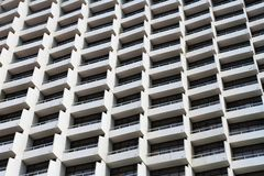 Highrise hotel building Stock Photography