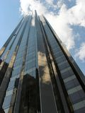 Highrise im Midtown Manhattan Lizenzfreies Stockfoto