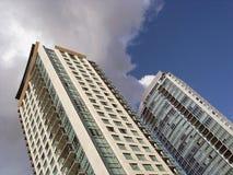 highrise mieszkaniowy budynku. Fotografia Royalty Free
