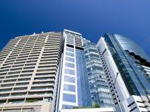 Highrise modern building. In Bangkok, Thailand Stock Photos