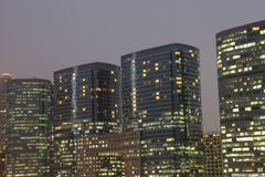 Highrise office buildgins Royalty Free Stock Photos