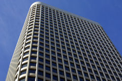 Highrise Office Building. This is a sharp and interesting angle of a high rise building Stock Photography