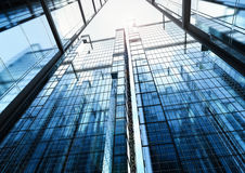 Highrise office building Royalty Free Stock Photo