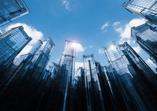 Highrise office building Stock Images