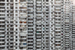 Highrise residential building Royalty Free Stock Image