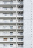 Highrise residential building Stock Photo