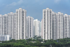 Highrise residential building Royalty Free Stock Images