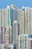 Highrise residential buildings Royalty Free Stock Images