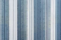 Highrise residential buildings in Hong Kong Stock Photos