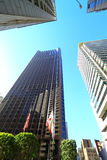 Highrise at San Francisco Downtown Royalty Free Stock Photography