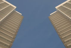 Highrise in the sky Royalty Free Stock Photography
