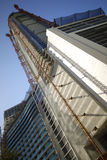 Highrise under construction Stock Photography