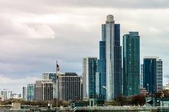 Highrise van Chicago gebouwen Royalty-vrije Stock Foto