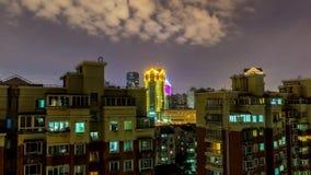Highrise Wohngebäude Shanghais stock video footage