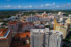 Highrisearchitektur Coral Gables Miami FL Stockfotos