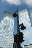 Highrisegebäude in BGC Bonifacio Global City, Philippinen Lizenzfreies Stockbild