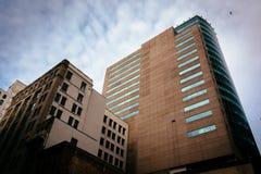 Highrises in Baltimore, Maryland Lizenzfreies Stockfoto