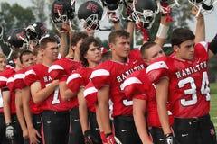 Highschool amerikanischer Fußball Lizenzfreie Stockfotografie