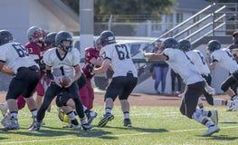 Highschool Fußballspiel Lizenzfreies Stockbild