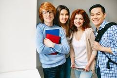 Highschool students Royalty Free Stock Photos