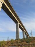 Highspeed railway viaduct Royalty Free Stock Photos