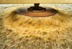 Liquid manure rain disk. royalty free stock photo
