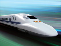 Highspeed train Royalty Free Stock Photography