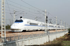 Highspeed trains Stock Photos