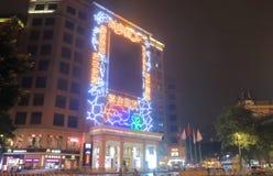 Highsun Binbin placu zakupy centrum handlowe Guangzhou Chiny fotografia stock