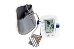 Hight blood pressure Stock Photo