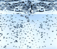 Hight definition waterdrops Stock Photos