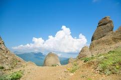 Hight mountains Stock Photo
