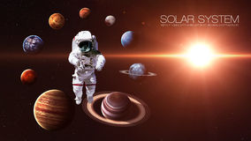 Hight quality isolated solar system planets. Hight quality solar system planets. Elements of this image furnished by NASA Stock Photos