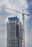 Hight Rise Construction Royalty Free Stock Image