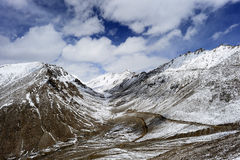 Hight road in Leh Ladakh Stock Photography