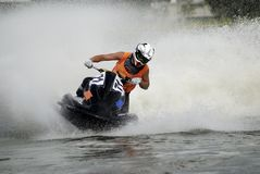 Hight-speed jetski4 royalty free stock photos