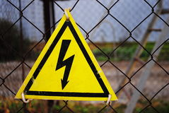 Hight voltage Stock Images
